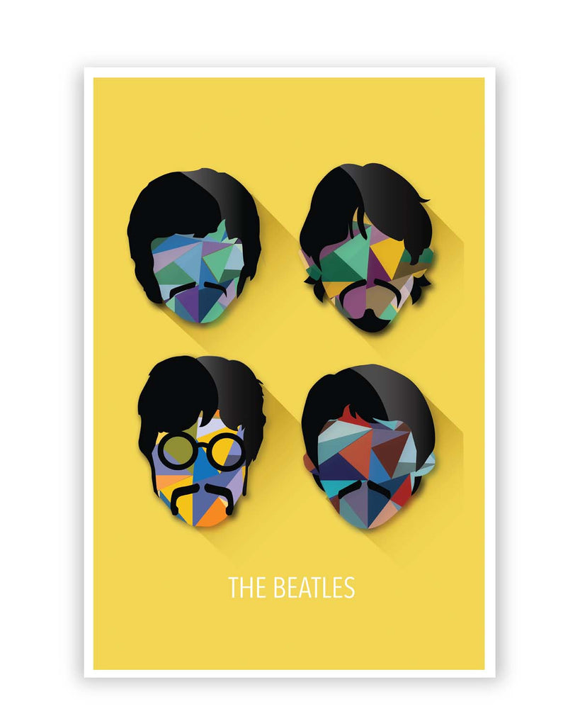 Enchanting The Beatles Wall Art Images - The Wall Art Decorations ...