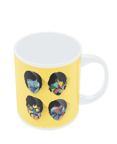 Coffee Mugs Online | Beatles Pop Art Design | Fan Art Mug Online India