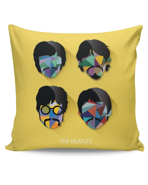 PosterGuy | Beatles Pop Art Design | Fan Art Cushion Cover Online India