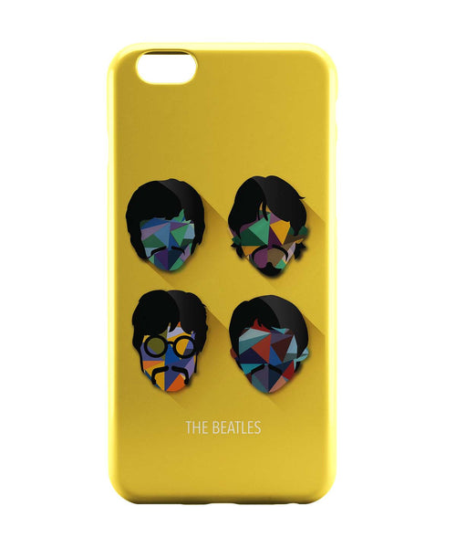 iPhone 6 Case & iPhone 6S Case | Beatles Pop Art Design | Fan Art iPhone 6 | iPhone 6S Case Online India | PosterGuy
