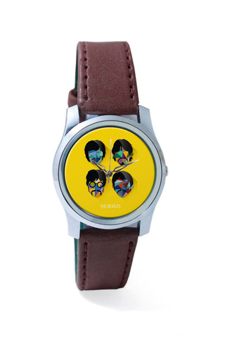 Women Wrist Watch India | Beatles Pop Art Design | Fan Art Wrist Watch Online India