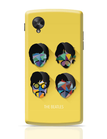 Google Nexus 5 Covers | Beatles Pop Art Design | Fan Art Google Nexus 5 Cover Online India