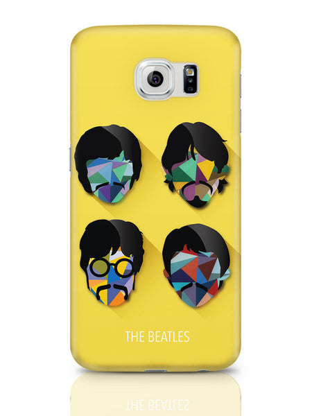 Samsung Galaxy S6 Covers & Cases | Beatles Pop Art Design | Fan Art Samsung Galaxy S6 Covers & Cases Online India