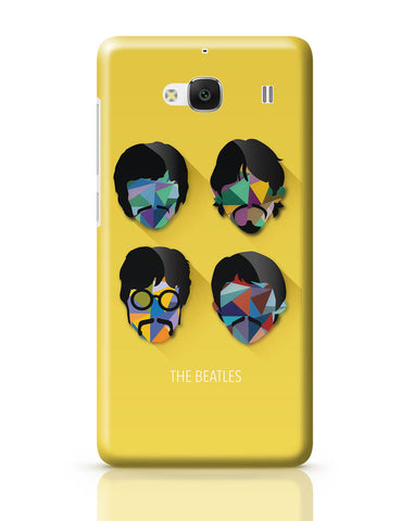 Xiaomi Redmi 2 / Redmi 2 Prime Cover| Beatles Pop Art Design | Fan Art Redmi 2 / Redmi 2 Prime Cover Online India