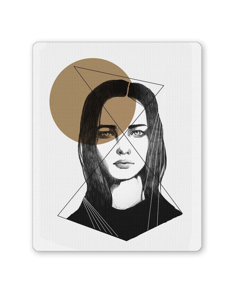 Buy Mousepads Online India | The Beauty of a Soul Illustration Mouse Pad Online India