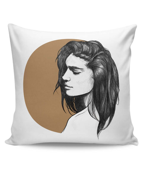 PosterGuy | Girl Illustration Cushion Cover Online India