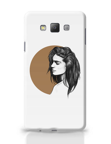 Samsung Galaxy A7 Covers | Girl Illustration Samsung Galaxy A7 Covers Online India