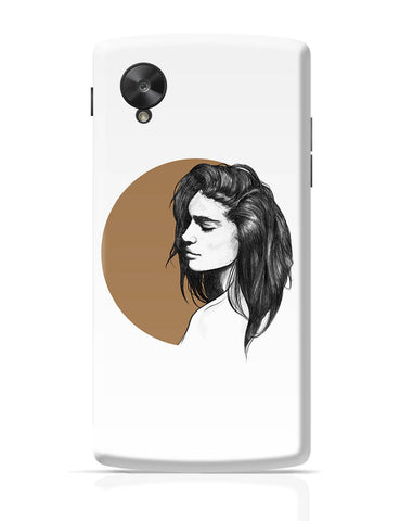 Google Nexus 5 Covers | Girl Illustration Google Nexus 5 Cover Online India