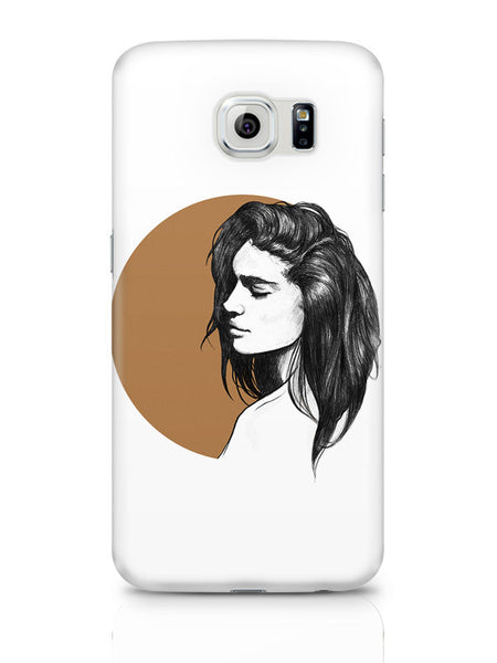 Samsung Galaxy S6 Covers & Cases | Girl Illustration Samsung Galaxy S6 Covers & Cases Online India