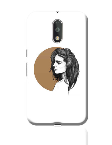 Girl Illustration Moto G4 Plus Online India
