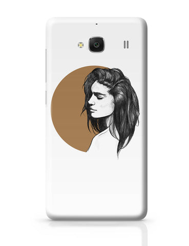 Xiaomi Redmi 2 / Redmi 2 Prime Cover| Girl Illustration Redmi 2 / Redmi 2 Prime Cover Online India
