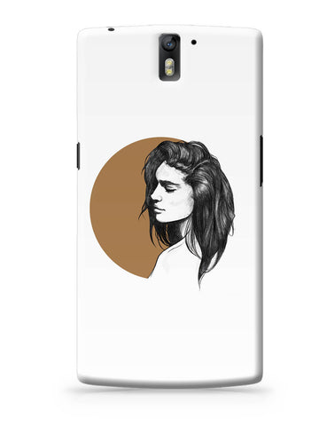 OnePlus One Covers | Girl Illustration OnePlus One Cover Online India