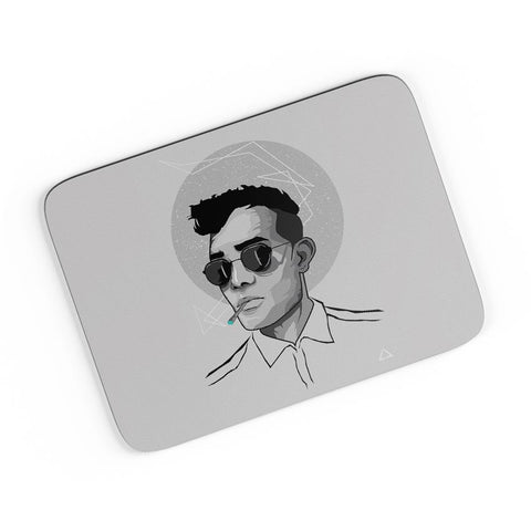 Vector Illustration Portrait A4 Mousepad Online India
