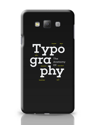 Samsung Galaxy A7 Covers | Typography Info graphic Illustration Samsung Galaxy A7 Covers Online India