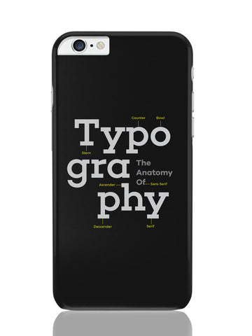 iPhone 6 Plus / 6S Plus Covers & Cases | Typography Info Graphic Illustration iPhone 6 Plus / 6S Plus Covers and Cases Online India