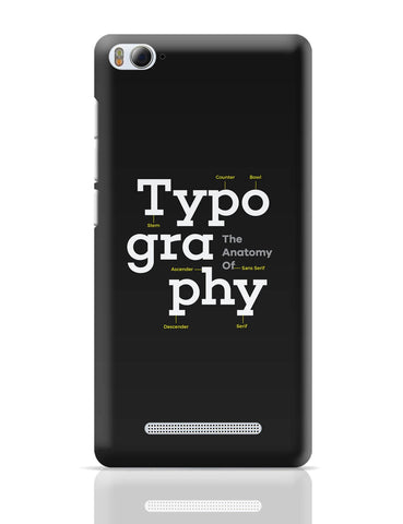 Xiaomi Mi 4i Covers | Typography Info graphic Illustration Xiaomi Mi 4i Cover Online India