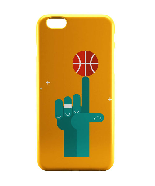 iPhone 6 Case & iPhone 6S Case | Basketball on My tip Quirky iPhone 6 | iPhone 6S Case Online India | PosterGuy