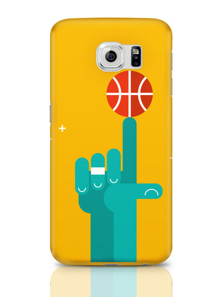 Samsung Galaxy S6 Covers & Cases | Basketball On My Tip Quirky Samsung Galaxy S6 Covers & Cases Online India