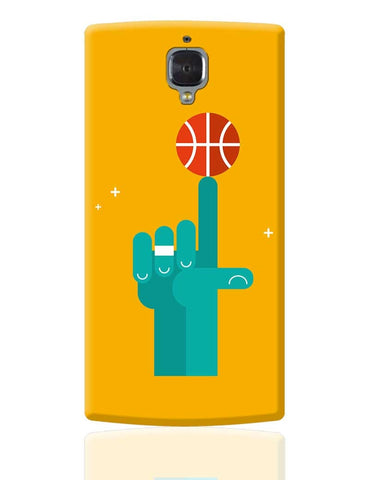 Basketball on My tip Quirky OnePlus 3 Cover Online India