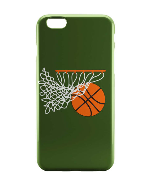 iPhone 6 Case & iPhone 6S Case | Basketball in the Net Illustration iPhone 6 | iPhone 6S Case Online India | PosterGuy