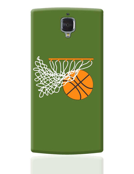 Basketball in the Net Illustration OnePlus 3 Cover Online India
