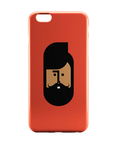 iPhone 6 Case & iPhone 6S Case | The Quirky Beard Minimalist iPhone 6 | iPhone 6S Case Online India | PosterGuy