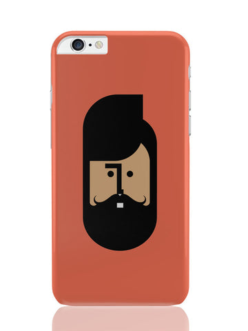 iPhone 6 Plus / 6S Plus Covers & Cases | The Quirky Beard Minimalist iPhone 6 Plus / 6S Plus Covers and Cases Online India