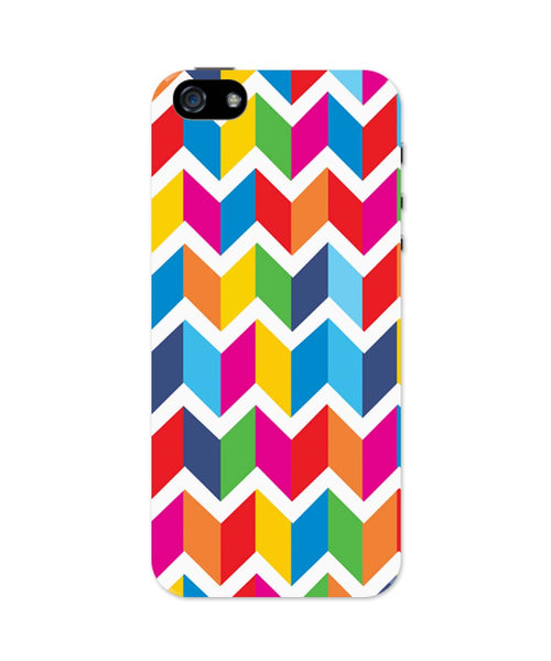 iPhone 5 / 5S Cases & Covers | Abstract Bricks pattern iPhone 5 / 5S Case Online India