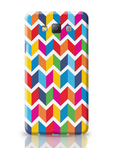 Samsung Galaxy A7 Covers | Abstract Bricks pattern Samsung Galaxy A7 Covers Online India