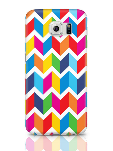 Samsung Galaxy S6 Covers & Cases | Abstract Bricks Pattern Samsung Galaxy S6 Covers & Cases Online India