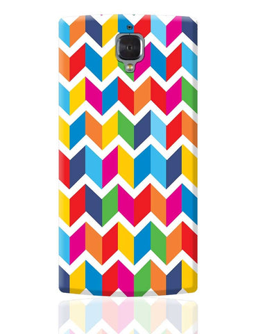 Abstract Bricks pattern OnePlus 3 Cover Online India