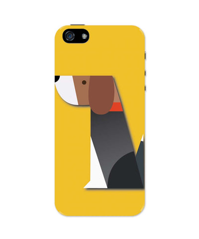 iPhone 5 / 5S Cases & Covers | Dog vector Illustration iPhone 5 / 5S Case Online India