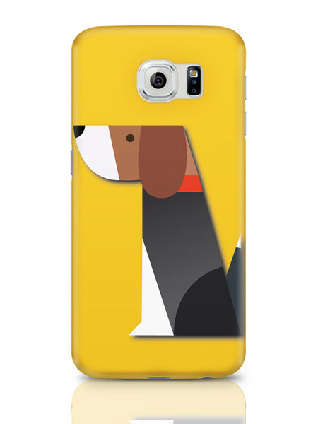 Samsung Galaxy S6 Covers & Cases | Dog Vector Illustration Samsung Galaxy S6 Covers & Cases Online India