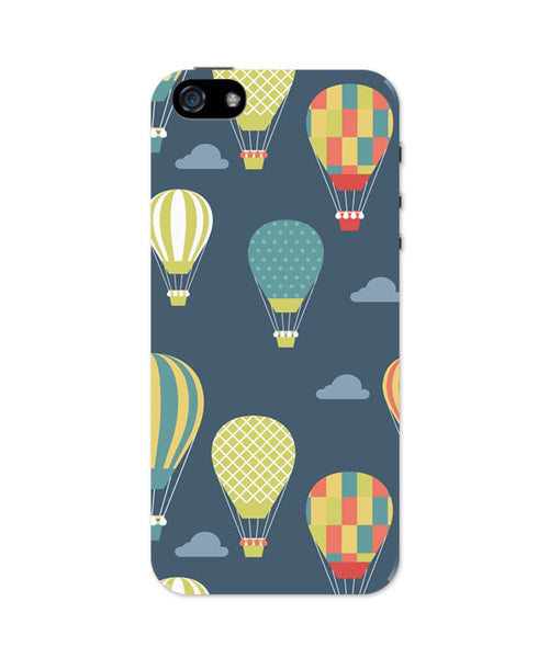 iPhone 5 / 5S Cases & Covers | Hot Air Balloons Illustration iPhone 5 / 5S Case Online India
