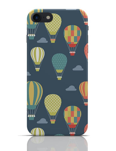 Hot Air Balloons Illustration iPhone 7 Covers Cases Online India