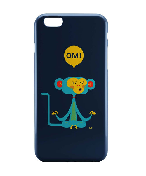 iPhone 6 Case & iPhone 6S Case | Om | the Meditating Monkey Illustration iPhone 6 | iPhone 6S Case Online India | PosterGuy