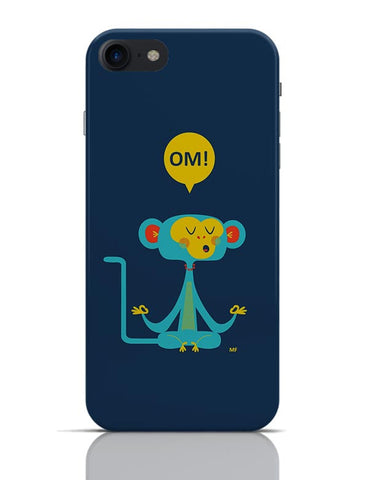 Om | the Meditating Monkey Illustration iPhone 7 Covers Cases Online India