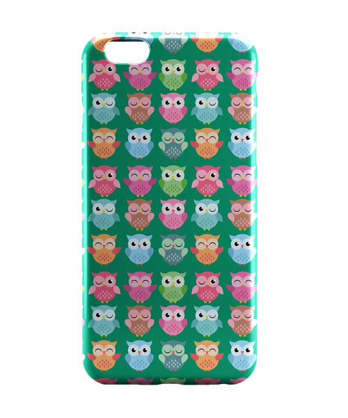 iPhone 6 Case & iPhone 6S Case | Quirky Owl Patterns iPhone 6 | iPhone 6S Case Online India | PosterGuy