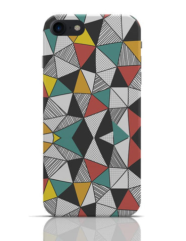 Triangular Patterns iPhone 7 Covers Cases Online India