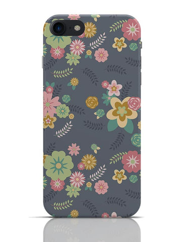 Random Flowers Patterns iPhone 7 Covers Cases Online India