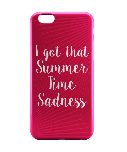 iPhone 6 Case & iPhone 6S Case | I Got That Summertime Madness Typo iPhone 6 | iPhone 6S Case Online India | PosterGuy