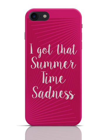 I Got That Summertime Madness Typo iPhone 7 Covers Cases Online India