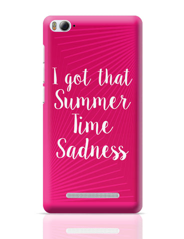 Xiaomi Mi 4i Covers | I Got That Summertime Madness Typo Xiaomi Mi 4i Cover Online India