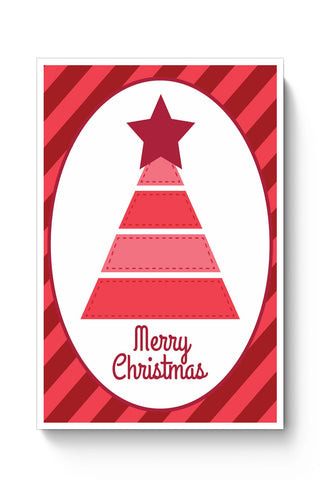 Posters Online | Merry Christmas Illustration Poster Online India | Designed by: Palna Patel