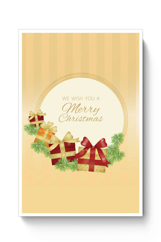 Posters Online | We Wish You a Merry Christmas Poster Online India | Designed by: Palna Patel