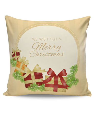 PosterGuy | We Wish You a Merry Christmas Cushion Cover Online India