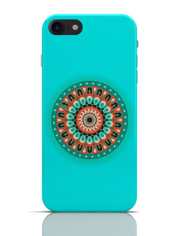 Circular Geometric Pattern Illustration iPhone 7 Covers Cases Online India