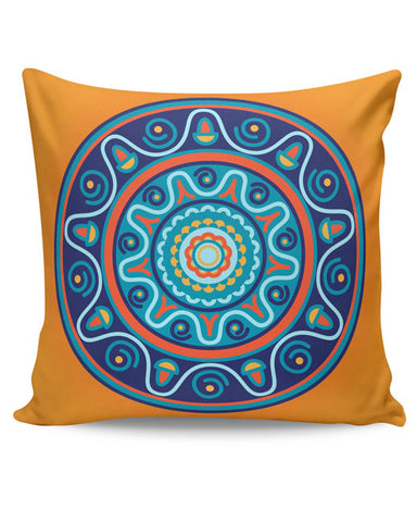 PosterGuy | Circular Geometric Pattern Cushion Cover Online India
