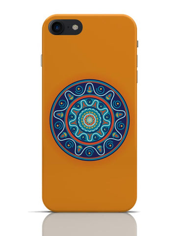 Circular Geometric Pattern iPhone 7 Covers Cases Online India