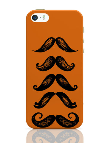 iPhone 5 / 5S Cases & Covers | Quirky Moustaches iPhone 5 / 5S Case Online India